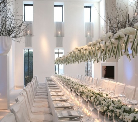 WHITE HOT EVENT DECOR! | Evntiv